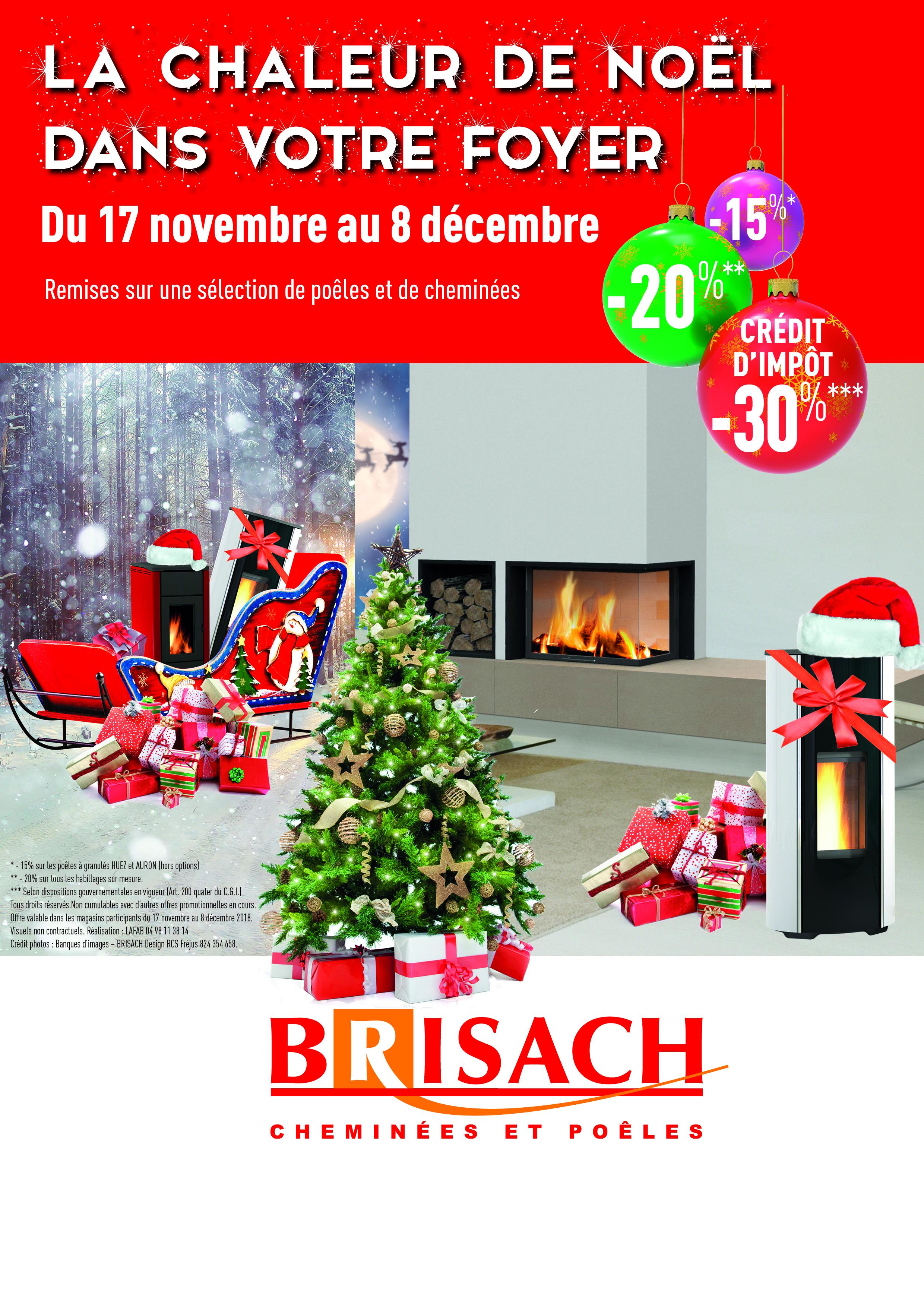 Noel Avant L Heure Promo Sur Poele Ou Cheminee Du 17 Novembre Au