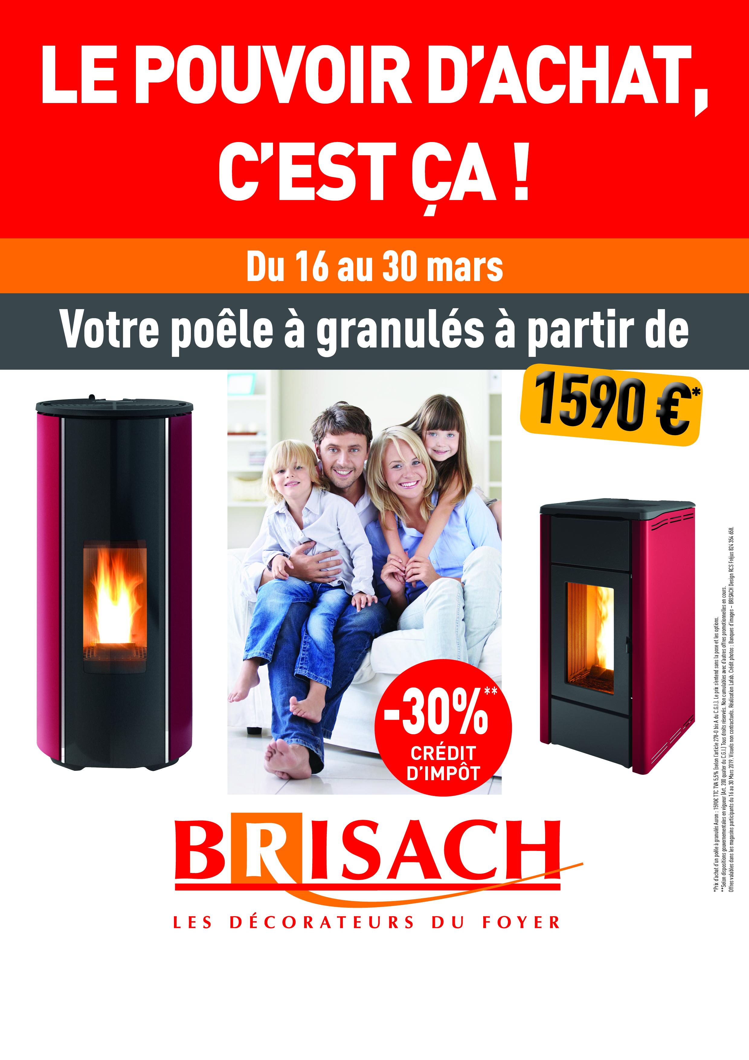 BRISACH relance le pouvoir d'achat